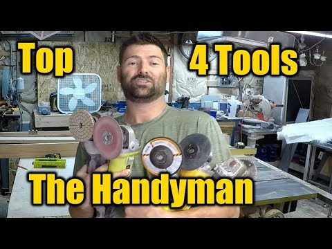Top 4 Power Tools You Need for Home Improvement Projects | THE HANDYMAN |