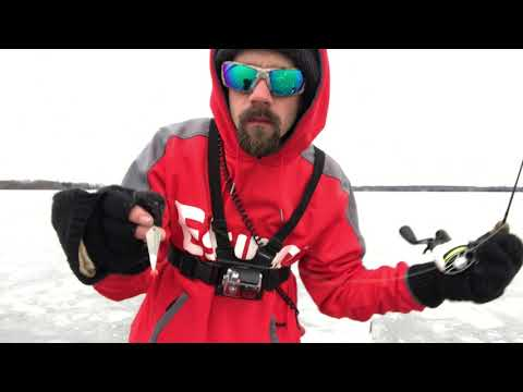Northern Lake Champlain Ice Fishing Dec 17 2019   HD