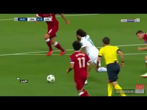 2018 Real Madrid vs Liverpool final Champions league Penampilan Mohammad salah sebelum cedera
