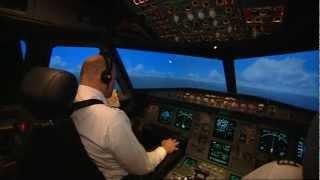 Training im Flugsimulator