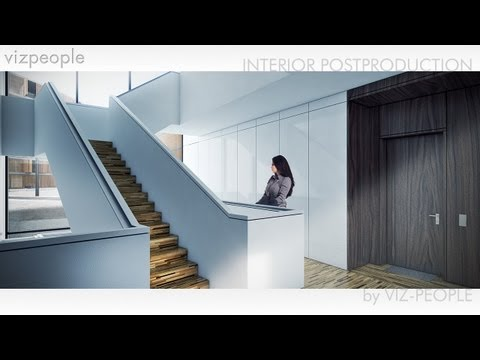Viz-People Interior Postproduction Tutorial