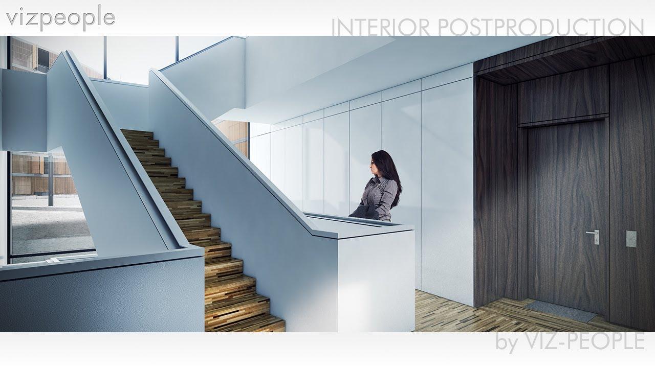 Viz people interior postproduction tutorial youtube for Pixel people interior designer