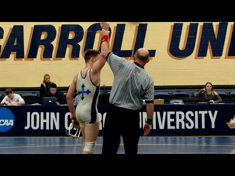 Jarrad Lasko vs Dallas OGreene from Heidelberg 2 3 2017