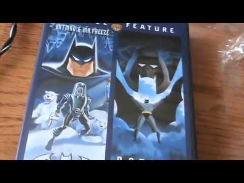 Batman & Mr. Freeze: Subzero/Batman: Mask of the Phantasm DVD Unboxing