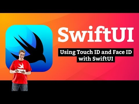 Using Touch ID and Face ID with SwiftUI – Bucket List SwiftUI Tutorial 6/10 thumbnail