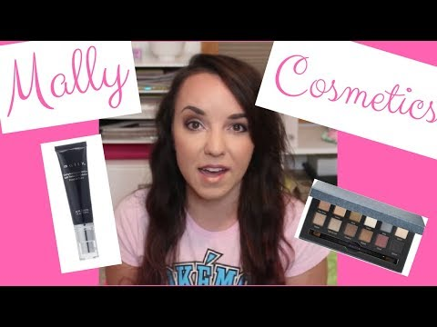 Mally Cosmetics Review and Application!