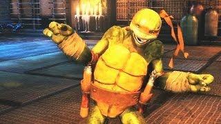 Teenage Mutant Ninja Turtles: Out of the Shadows - Michelangelo-Trailer (Gameplay)