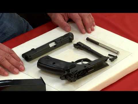 CZ 75 BD - How to Disassemble/Field Strip/Break Down A CZ 75 BD Firearm