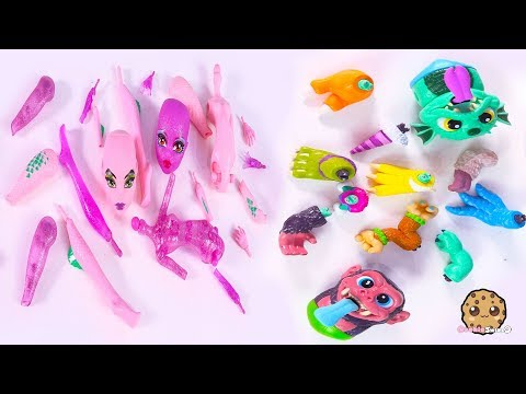Create A Monster High Doll + Crate Creatures Surprise ! Toy Video