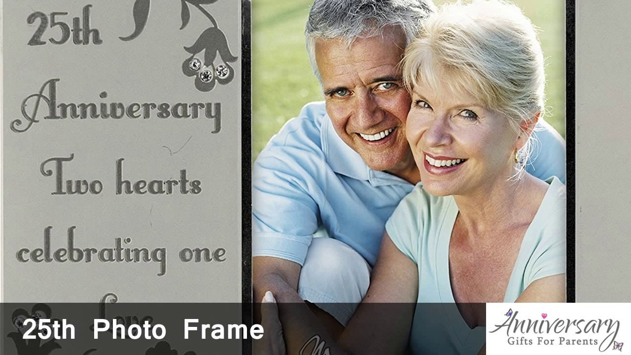 Best 25th Wedding Anniversary Gift Ideas For Parents Youtube