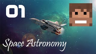 Space Astronomy, A Minecraft HQM Modpack, Episode 1