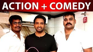 Santhanam with famous director