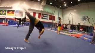 INSANE EPIC Tricking Flips & Gymnastics Tumbling Session