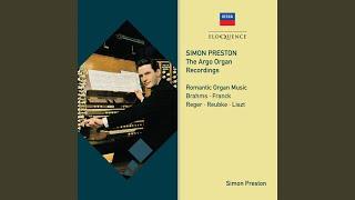 Reubke: Sonata on the 94th Psalm, in C minor - 2. Adagio - Lento
