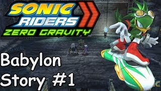 Sonic Riders Zero Gravity - Babylon Rogues Story - #1
