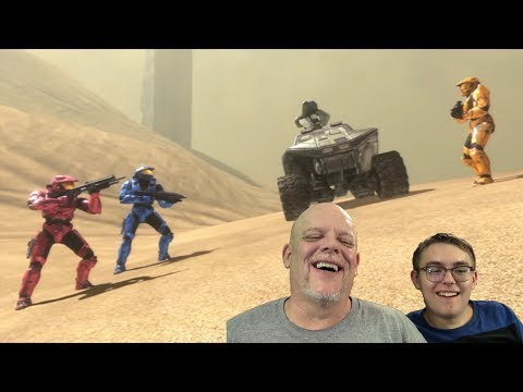 "REACTION VIDEOS | ""Red vs Blue, Season 7, Ch 8"" - Flawless Minefield Navigation!"