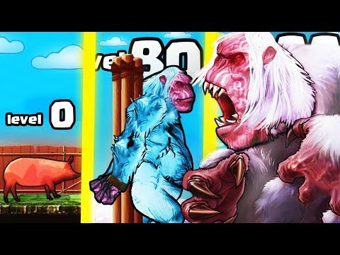 IS THIS THE STRONGEST HIGHEST LEVEL YETI EVOLUTION? (9999+ BOSS LEVEL) l Yeti Rampage |