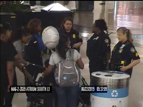 Sherri Marengo - Parents fight off woman in Atlanta airport trying to kidnap their kids!