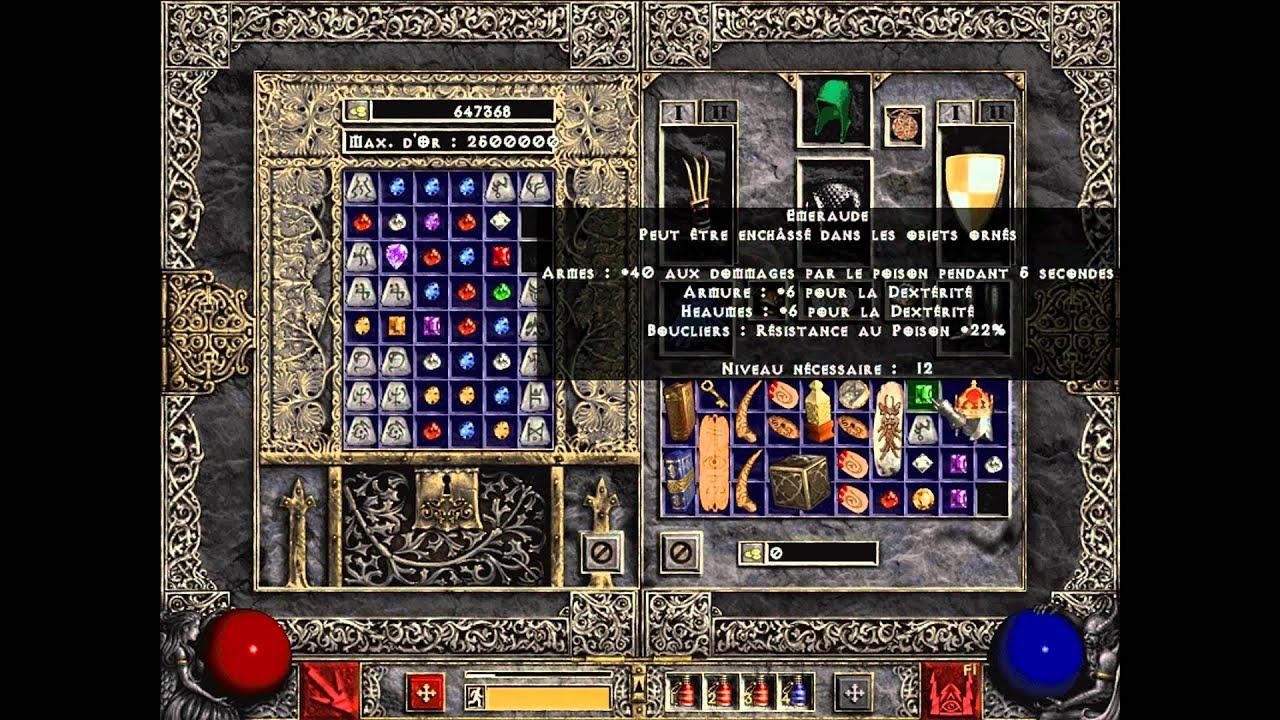 Diablo II LoD Singleplayer Nice Runeword - YouTube