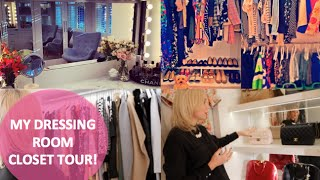 My Dream Dressing Room & Closet Tour!