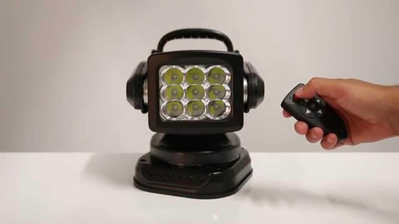 Vertailussa 400W halogeeni ja vastaava LED-työvalaisin