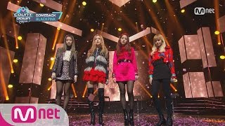 blackpink   stay  comeback stage   m countdown 161110 ep 500