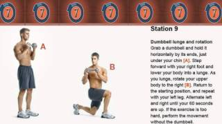 Spartacus Workout 1.0 : Circuit Timer