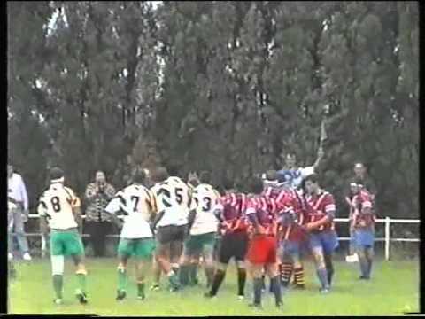Rugby Bompas Senior contre Ponteilla Le 27 Septembre 1998 saison 1998/1999