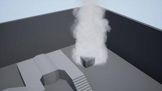 Создание дыма в Unreal Engine 4. Урок по Niagara в UE4.  Частицы в Unreal Engine 4.