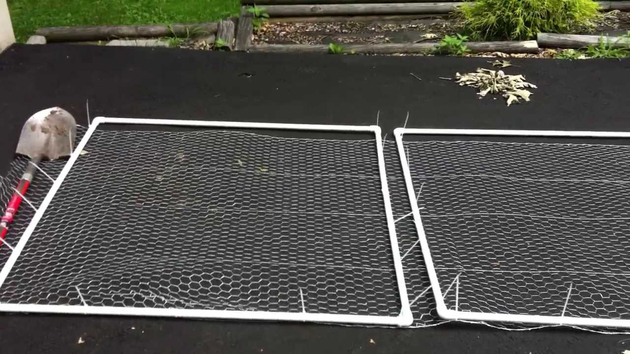 How To Build A Door For The Temporary Garden Fences