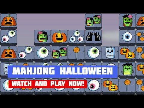 Mahjong Connect Halloween · Game · Gameplay
