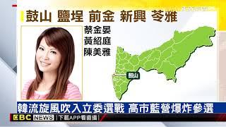 韓流旋風吹入立委選戰 高市藍營爆炸參選