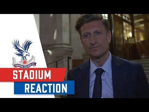 STADIUM PLANNING APPROVAL : Steve Parish Reacts