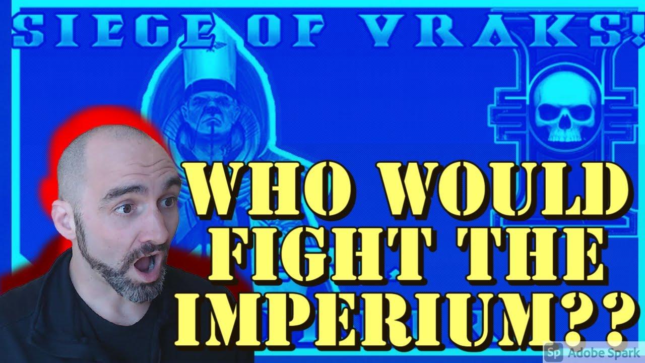 Army Combat Vet Breaks Down Arch's Siege of Vraks- Usurper!