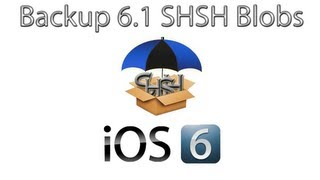 How To Backup Your Ios 6.1 Shsh Blobs For Future Downgrade  No Jailbreak Needed