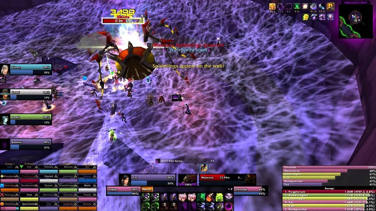 Paradox vs Maexxna 25 Realm First - Lordaeron Warmane by Paradox Guild