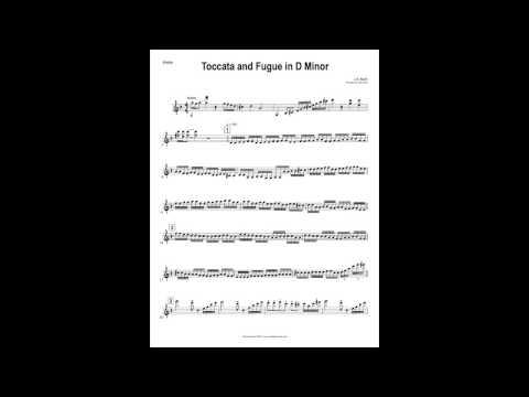 Toccata & Fugue - Violin, Viola, Rock Orchestra (60 Second Version)