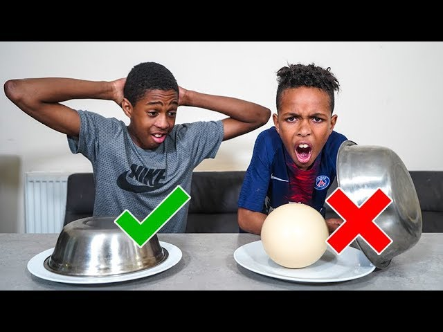 DONT Choose The WRONG Mystery Plate - Challenge