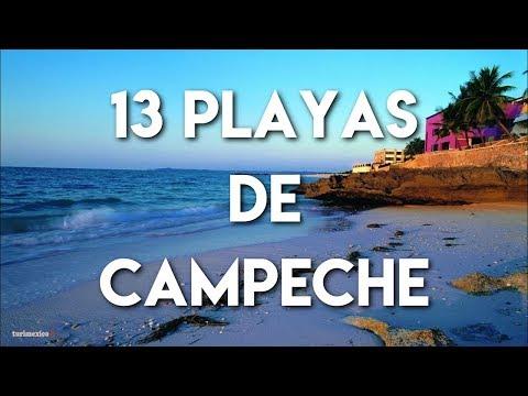 13 Playas que NO te debes Perder en Campeche