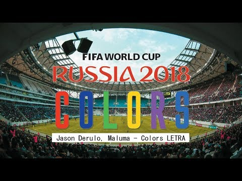 VIDEO OFICIAL RUSIA 2018 COLORS - MALUMA, JASON DERULO LETRA - LYRICS