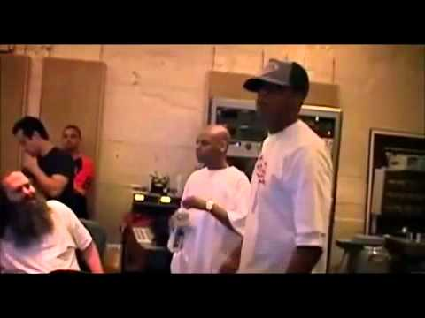 Behind The Scenes Jay Z And Rick Rubin Recording 99 Problems