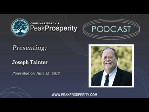 Joseph Tainter: The Collapse Of Complex Societies