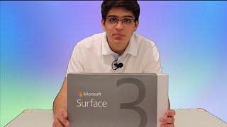 Microsoft Surface 3 con Windows 10 Pro - UNBOXING , en español