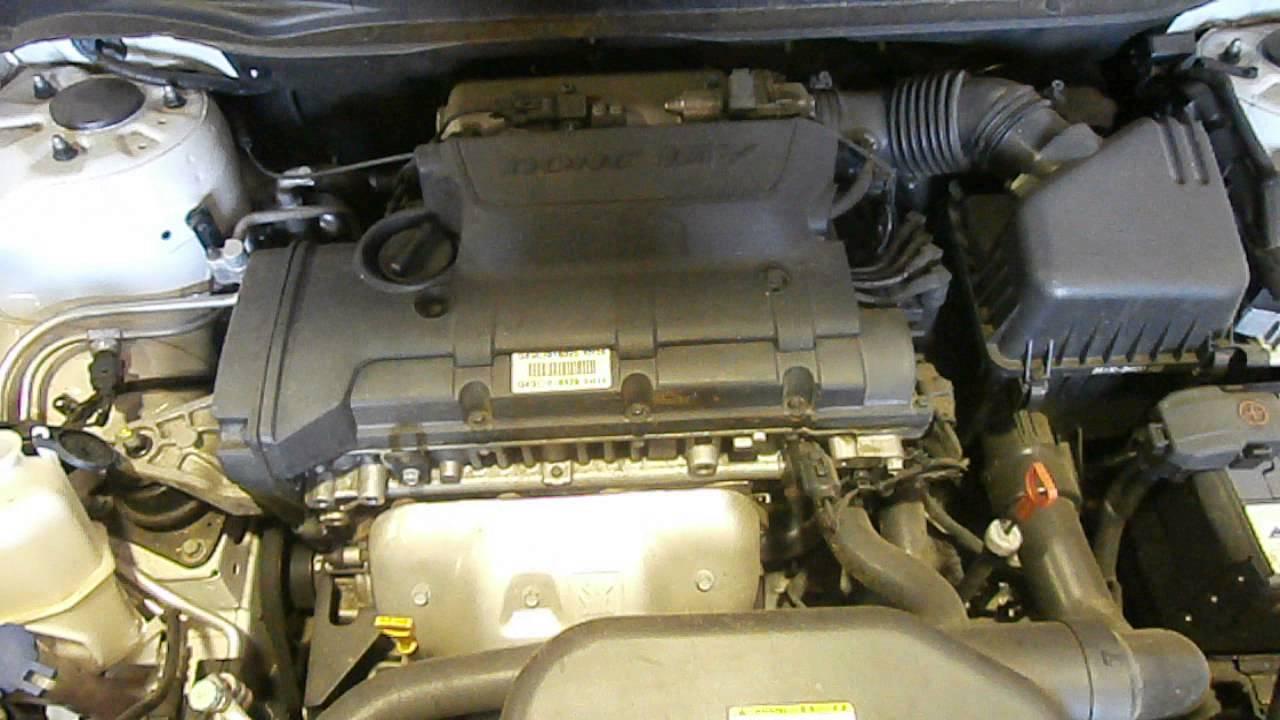 Wrecking 2007 Hyundai Elantra 2 0 G4gc Vvt Hd J13498