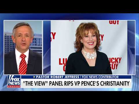 Pastor Jeffress Slams Joy Behar: For the Left, It's Always 'Open Season' on Attacking Christians