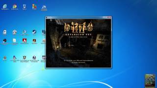 How to play Diablo 2 inn a full screen wide resoulotion