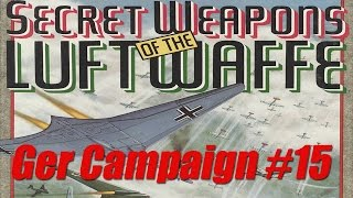 Secret Weapons of the Luftwaffe (Dos PC) Campaign #15 / LucasGames / 1991