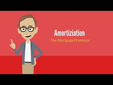 Amortization: The Mortgage Professor #5