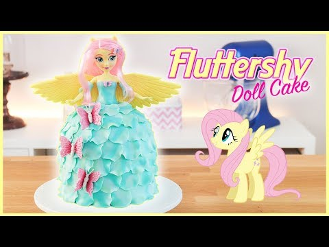 Fluttershy Doll Cake  My Little Pony Equestria Girls  Tan Dulce