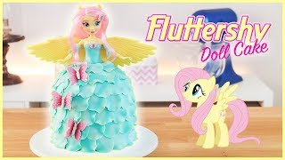 Fluttershy Doll Cake - My Little Pony Equestria Girls - Tan Dulce